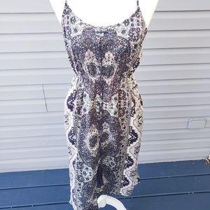 NWT Cupcakes & Cashmere Leela ink midi dress Small